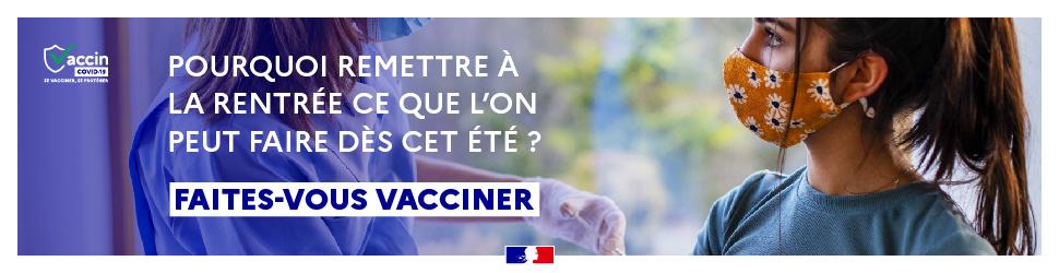 Banniere vaccination rentree