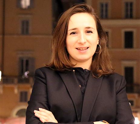 Marie Zago-responsable com-Ecole française de Rome