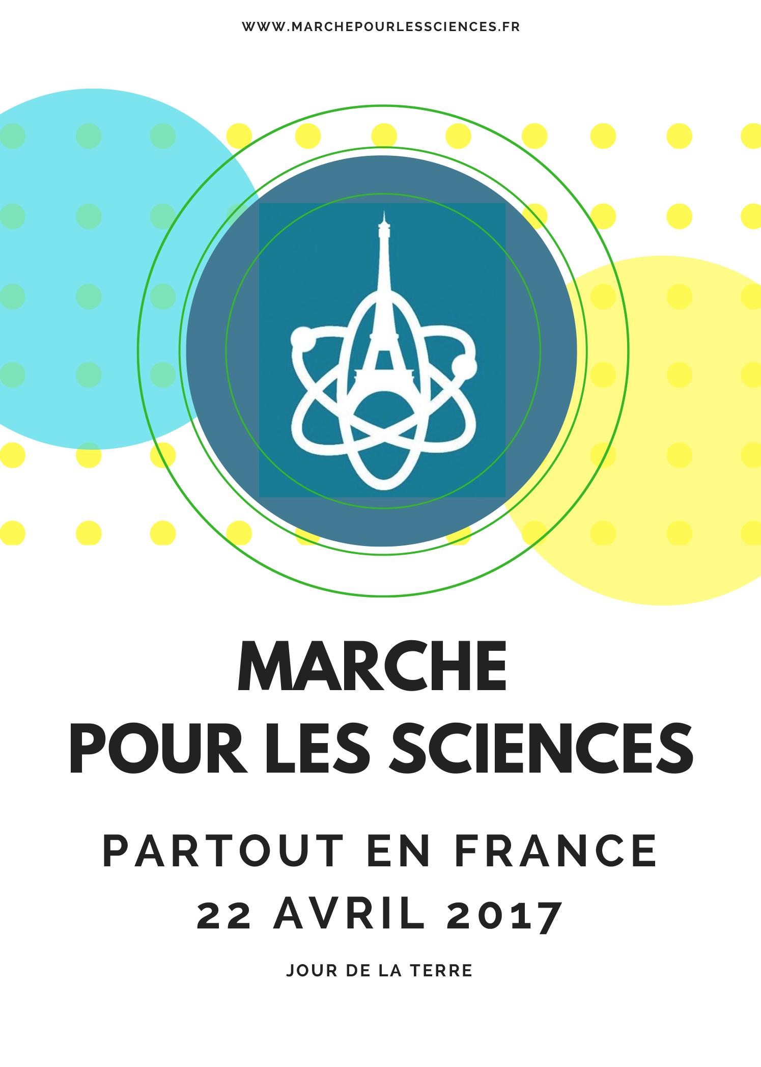 Jour de la Terre - Marche des Sciences