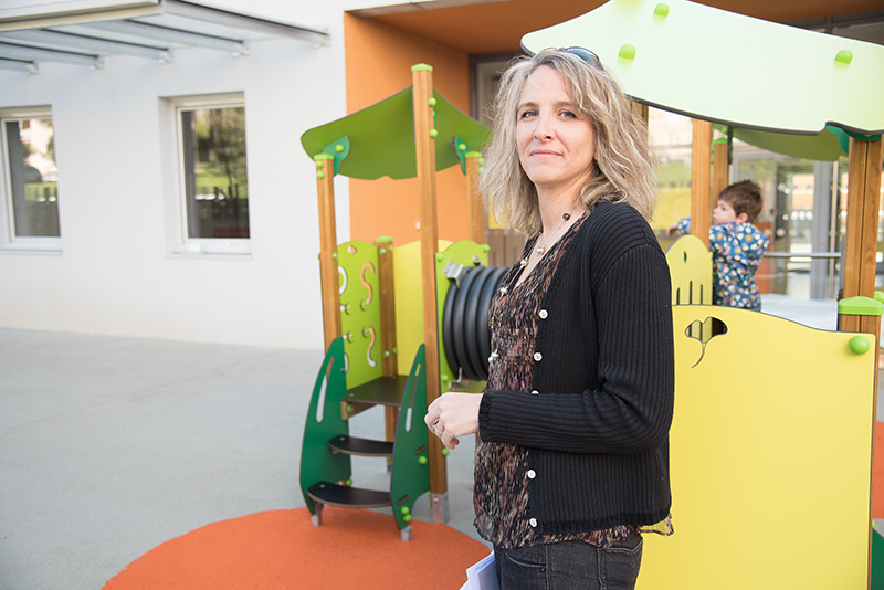 Céline Lajeunie, directrice crèche